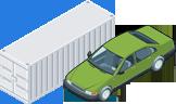 Перевозка автомобилей в контейнерах
